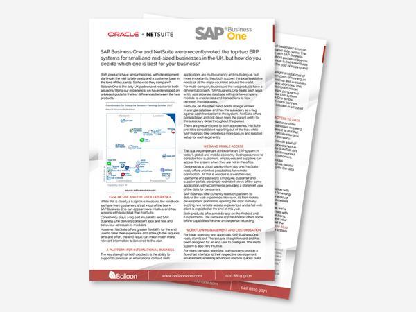 Blog Image - NetSuite vs SAP 2