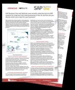 NetSuite vs SAP